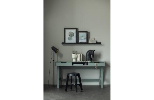 WOOOD Studio Fotolijstplank 120cm Mdf Zwart Black Woonaccessoire