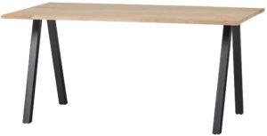 WOOOD Tablo Tafel Eiken 160x90 2-standen Poot Onbehandeld Eettafel