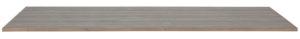 WOOOD Tablo Tafelblad Geborst. Grenen Smoke On Pine 160x90 Smoke Eettafel