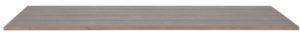 WOOOD Tablo Tafelblad Geborst. Grenen Smoke On Pine 220x90 Smoke Eettafel