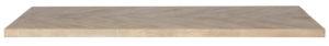 WOOOD Tablo Tafelblad Mango Visgraat 180x90 White wash Eettafel