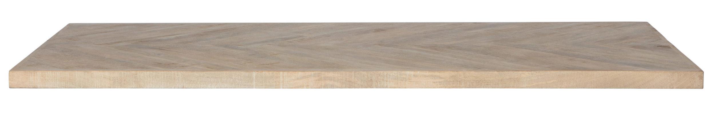 Tablo Tafelblad Mango Visgraat - 200x90