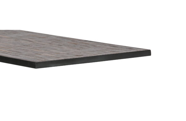 WOOOD Tablo Tafelblad Teak/metaal 180x90 Natural Eettafel