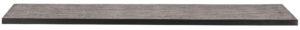 WOOOD Tablo Tafelblad Teak/metaal 200x90 Natural Eettafel
