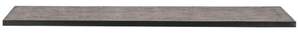 WOOOD Tablo Tafelblad Teak/metaal 220x90 Natural Eettafel