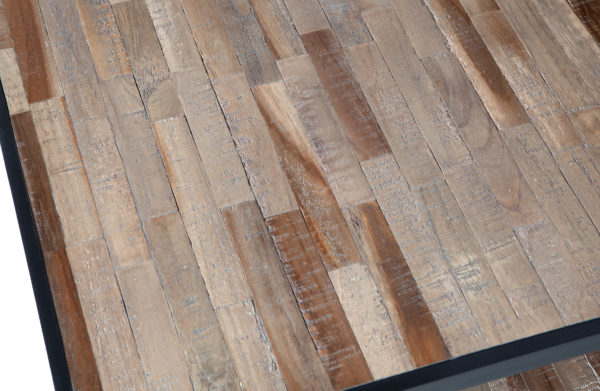 WOOOD Vic Salontafel Hout/metaal 120x60 Natural Eettafel
