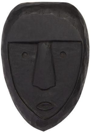 WOOOD Xava Masker Hout Zwart Black Woonaccessoire