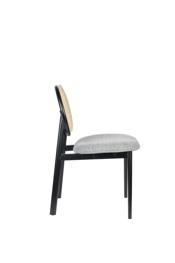 Zuiver Chair Spike Natural/Grey  Eetkamerstoel