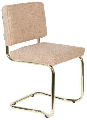 Zuiver Chair Teddy Kink Pink  Eetkamerstoel