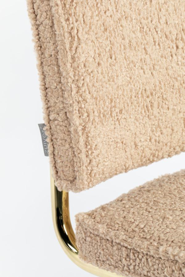 Zuiver Chair Teddy Pink  Eetkamerstoel