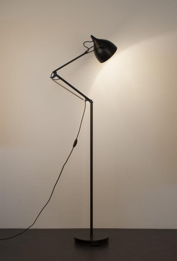 Zuiver Floor Lamp Reader Matt Black  Vloerlamp