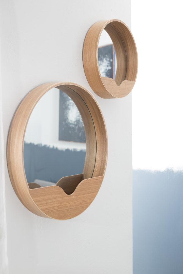 Zuiver Mirror Round Wall 40  Spiegel