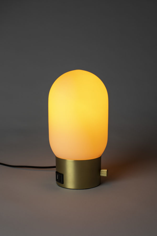Zuiver Table Lamp Urban Charger Gold  Tafellamp