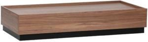 vtwonen Block Salontafel Grenen Walnoot 135x60 Walnut Eettafel