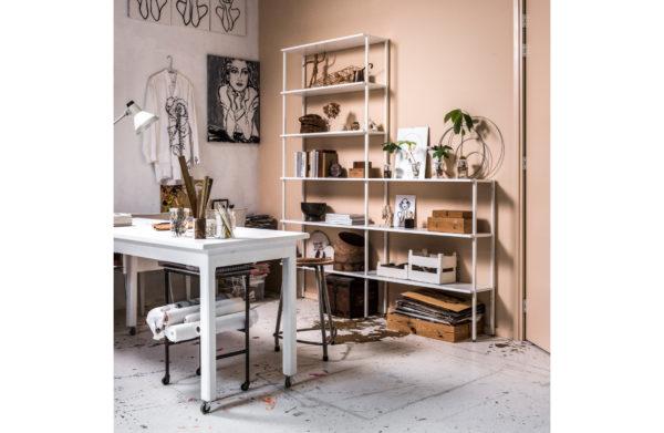 vtwonen Set V 3 - Rack Shelves Grenen Wit White Woonaccessoire