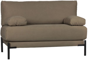 vtwonen Sleeve Loveseat Canvas Bruin/groen Brown/green Bank