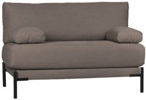 vtwonen Sleeve Loveseat Canvas Mokka Mocha Bank