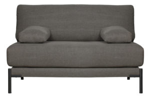 vtwonen Sleeve Loveseat Vintage Antraciet Anthracite Bank