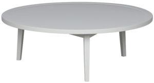 vtwonen Sprokkeltafel Hout Betongrijs 35x100x100 Concrete grey Eettafel
