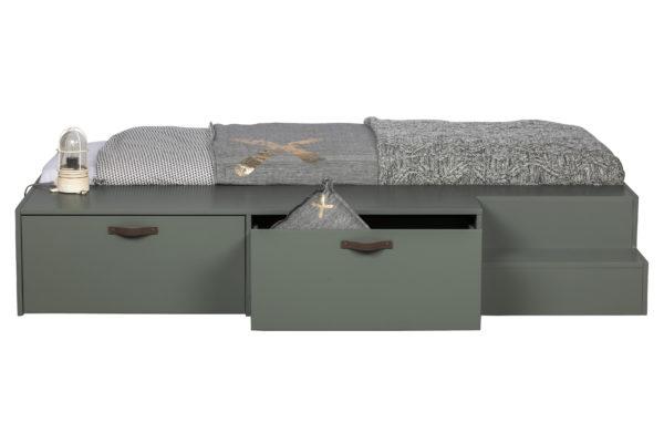 vtwonen Stage Bed   Lades Grenen Soap 80x200cm Excl Lattenbodem[fsc] Soap Ledikant