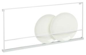 vtwonen Vt-wonen Bordenrek Metaal Wit 80cm White Woonaccessoire