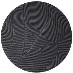 Tazi large round - black By-Boo Woonaccessoire 210130