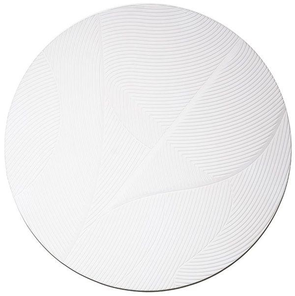 Tazi large round - white By-Boo Woonaccessoire 210131