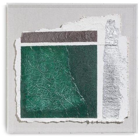 COCO maison Abstract Parchment A wandobject 50x50cm  Wanddecoratie