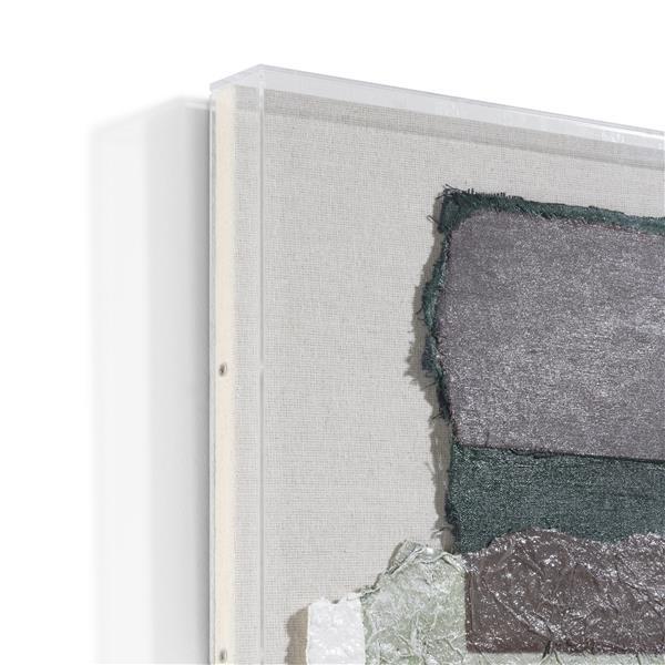 COCO maison Abstract Parchment B wandobject 50x50cm  Wanddecoratie