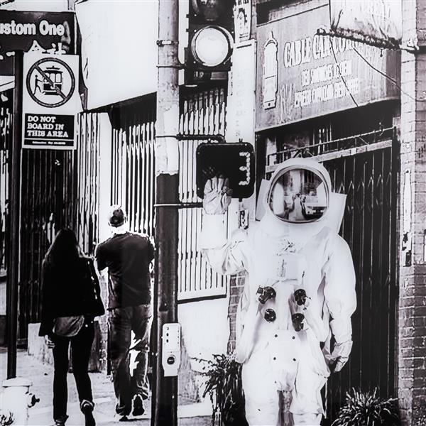 COCO maison Astronaut print 90x140cm  Schilderij