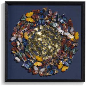 COCO maison Butterfly wandobject 60x60cm  Wanddecoratie