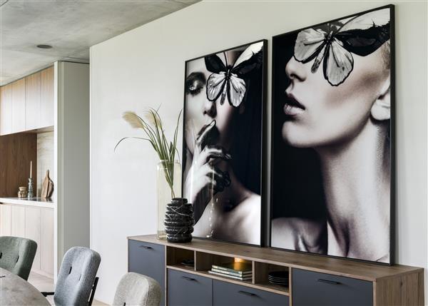 COCO maison Mysterious A print 90x140cm  Schilderij