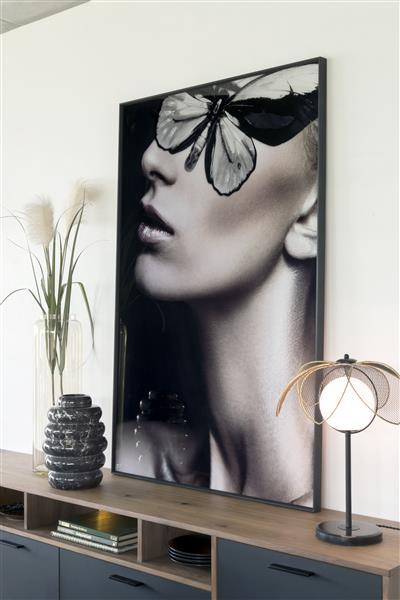 COCO maison Mysterious B print 90x140cm  Schilderij