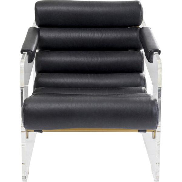 Fauteuil Firo Black Kare Design Fauteuil 85986