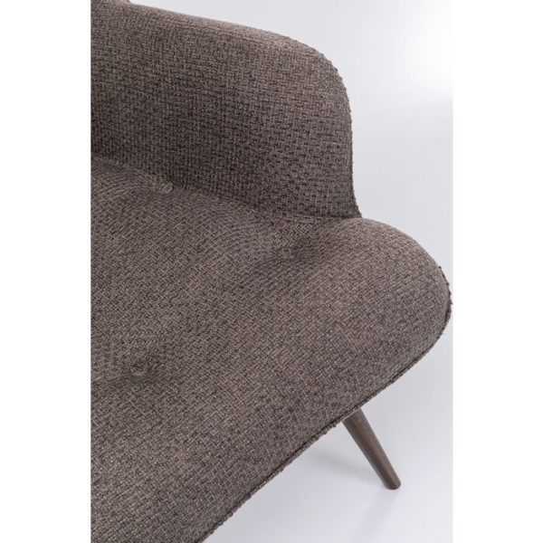 Oorfauteuil Vicky Dolce Brown Kare Design Oorfauteuil 86021