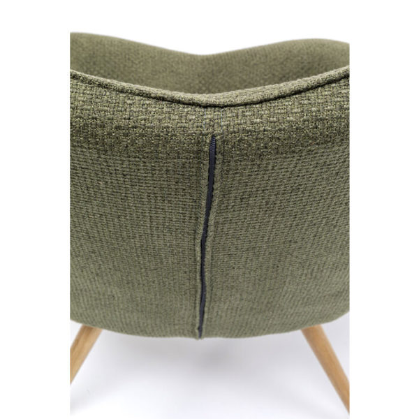 Oorfauteuil Vicky Dolce Green Kare Design Oorfauteuil 86019