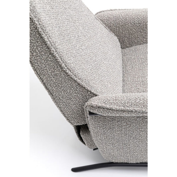 Relaxfauteuil Lazy Grey Kare Design Relaxfauteuil 85972