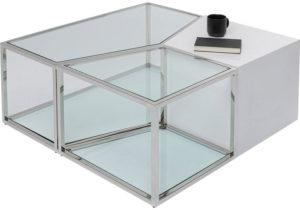 Salontafel Table Combination 95x95cm Kare Design Salontafel 85903