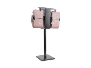 Flip Clock No Case Mini - Faded pink Karlsson Klok KA5758PI