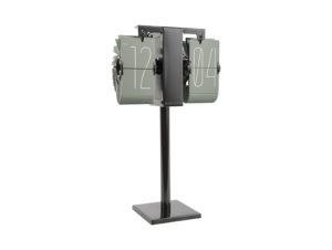 Flip Clock No Case Mini - Grayed jade Karlsson Klok KA5758GR