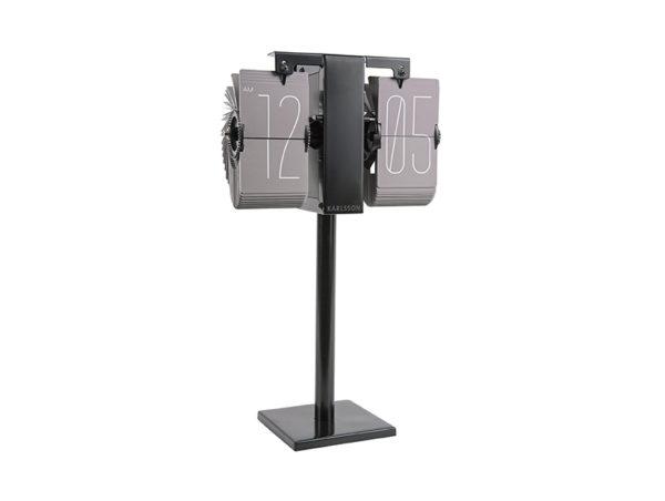 Flip Clock No Case Mini - Warm grey Karlsson Klok KA5758GY