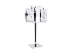 Flip Clock No Case Mini - White Karlsson Klok KA5758WH