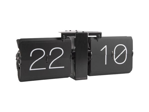 Flip Clock No Case Stand - Black Karlsson Klok KA5602BK