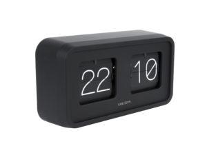 Table Clock Bold Flip - Black Karlsson Klok KA5712BK