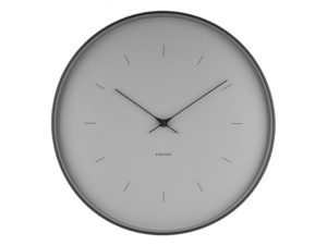 Wall Clock Butterfly Large - Grey Karlsson Klok KA5707GY