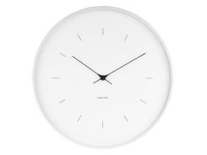 Wall Clock Butterfly Large - White Karlsson Klok KA5707WH