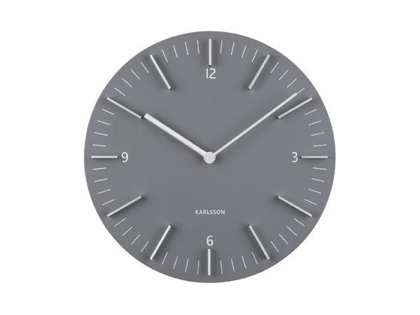 Wall Clock Detailed - Grey Karlsson Klok KA5782GY