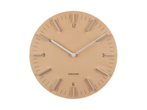 Wall Clock Detailed - Sand brown Karlsson Klok KA5782SB