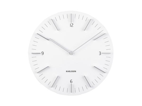 Wall Clock Detailed - White Karlsson Klok KA5782WH