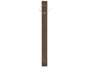 Wall Clock Discreet Long - Dark wood Karlsson Klok KA5780DW